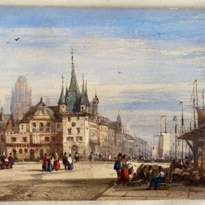 Clarkson Stanfield - Ansicht von Frankfurt